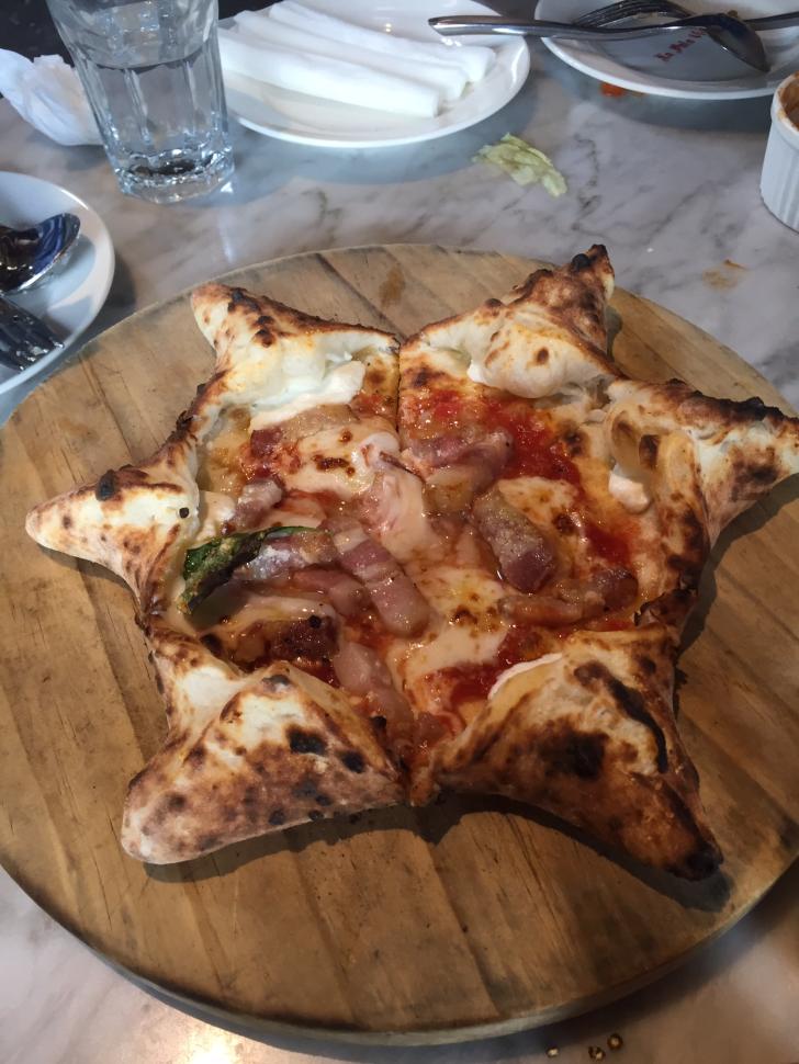 """培根披薩 728x0 - 來自義大利的星星pizza """"鏟子義大利餐廳"""""""