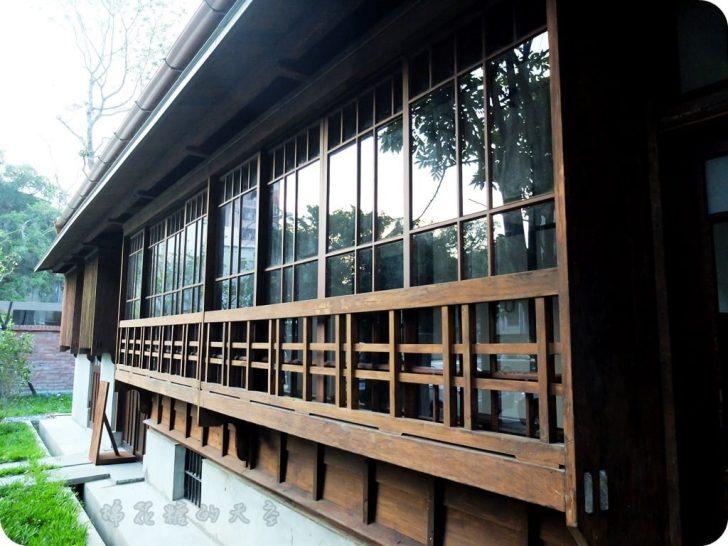 00日式建築4 728x0 - 《台中景點》日式風味台中文學館(上)氣質公園伴著有故事的牆