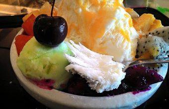 剛好冰果室@北屯超人氣懷舊風格冰果室 來碗十種水果的招牌剛好雪花冰吧
