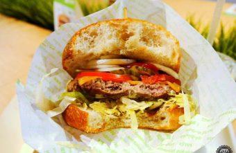 樂檸漢堡,吃的到煎烤牛肉的肉汁香甜。