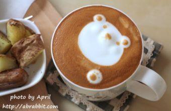 [台中]Mapper cafe脈搏咖啡--好吃的早午餐、小熊拉花咖啡和試管咖啡@五權路 西區