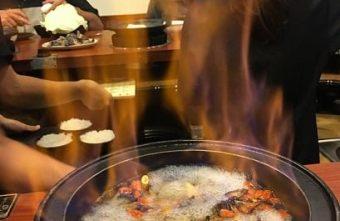 【台中。萬客什鍋】燒滾滾石鍋燒酒雞,快來嚐嚐熊熊火焰後讓人驚豔的好滋味!