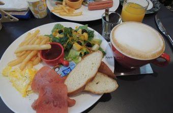 幕比電影主題咖啡@科博館植物園旁平價早午餐 80元起還附沙拉和飲品 上海懷舊風格香港電影黃金時期的主題咖啡館