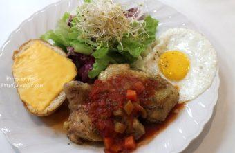 [台中]好日子早午餐--好吃的套餐式早午餐,老闆一定很愛韓國JYJ的金俊秀!@北屯區 興安路
