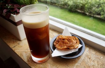 Solidbean Coffee Roasters - 啤酒咖啡喝了不會醉.淹沒冰淇淋有雙份濃縮和焦糖脆片讓我暫時忘記熱量.呵!