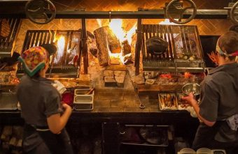 2016 02 17 214143 340x221 - 『熱血採訪』FORE restaurant原木燒烤創意無國界料理-採用鄉村炭火烹調手法、原味煙燻層次口感呈現,只想用食物的本質分享快樂。商業午餐質感優、份量足,大推薦。