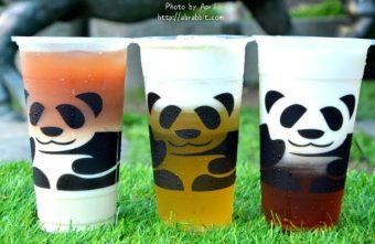 【熱血採訪】[台中]三軒茶屋一中店--萌死人的熊貓杯杯,老闆我要來一杯雙層熊貓的飲料啦!@一中街 尊賢街 北區