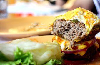 [台中]牛逼洋行--超級無敵厚的漢堡,真的無法一口咬下啊!@自立街 西區