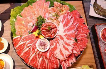 熱血採訪│台中巨無霸超大肉盤就在市太郎燒肉市場,台中燒肉餐廳