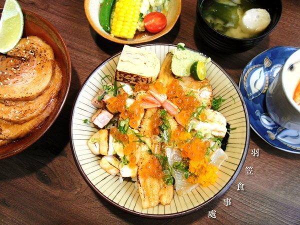 2017 03 05 074130 - 羽笠食事處│位於精誠路上日式丼飯,食材新鮮,用料豐富~