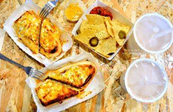 台中美食|台中宵夜|9PM 玖點--晚上九點營業的手作三明治@中區 台灣大道