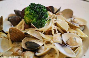 IMG 1421 340x221 - 懷特.朵兒義式料理,蒜香口味唇齒留香。蛤蠣都要快滿出盤子啦(已歇業)