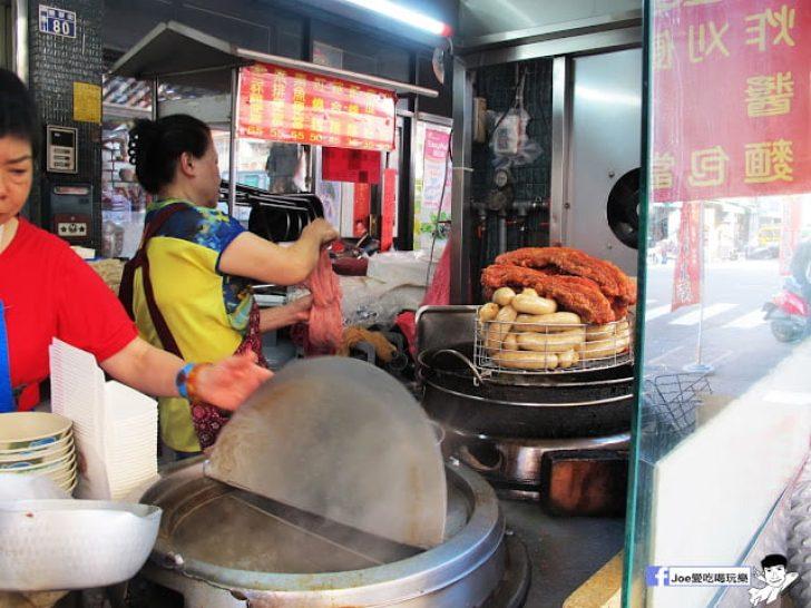 第五市場蚵仔粥│在地人的好口味, 除了蚵仔粥,肉捲、紅燒肉也是必點