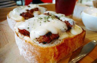 明治時代|麵包自選三明治 新鮮食材沙拉輕食 現點現做 南屯早午餐