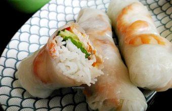 水湳市場越南美食|涼拌米線春捲清爽開胃超有飽足感 炎夏美食推薦