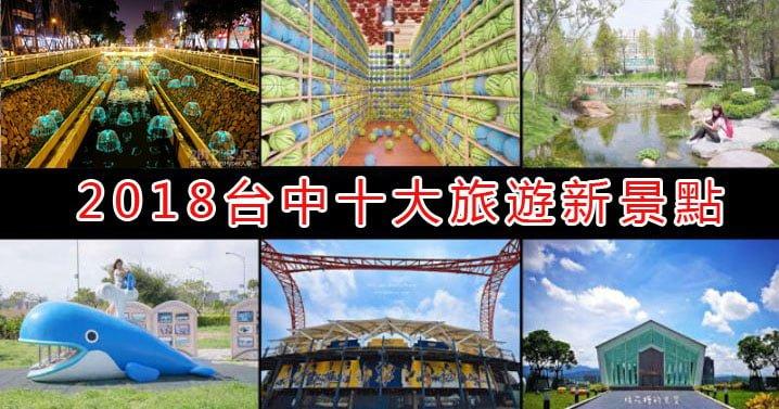 2018台中旅遊景點│10大熱門新景點,網美打卡拍照必備攻略