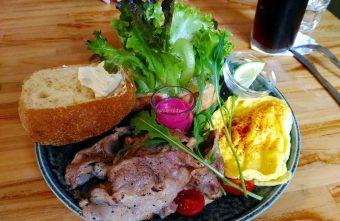 鄉親俱樂部FolkHall|台中老宅早午餐 日系風格好吃好拍 英式傳統早餐 拖鞋麵包 小農米食系列