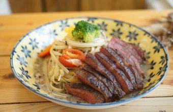 台中西區|肆月捌 X Dakuaidai甜室 有溫度的老屋餐廳 舒肥牛排好吃不貴