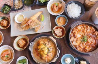熱血採訪 | 公益路商業午餐日式小菜吃到飽,每日限量香濃起士鑲蛋豬排就在遇見和食