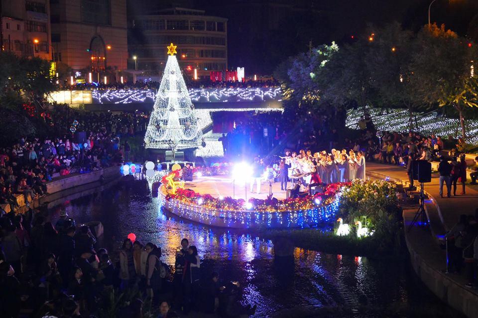 2017 12 09 223400 - 人山人海的柳川點燈一開幕大爆滿,建議過幾天再去比較好拍