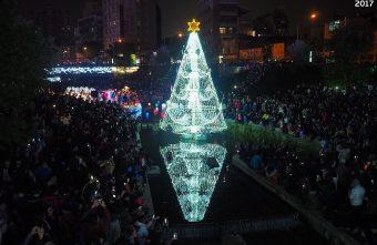 2017 12 16 232320 340x221 - 柳川水岸步道聖誕樹亮起來,中區柳川光景藝術展同步點燈~