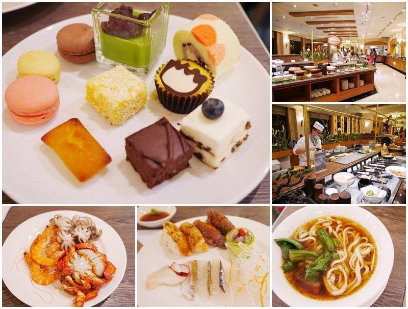 新竹吃到飽美食 煙波大飯店 莫內西餐廳 晚餐Buffet~現做炙燒握壽司吃到飽
