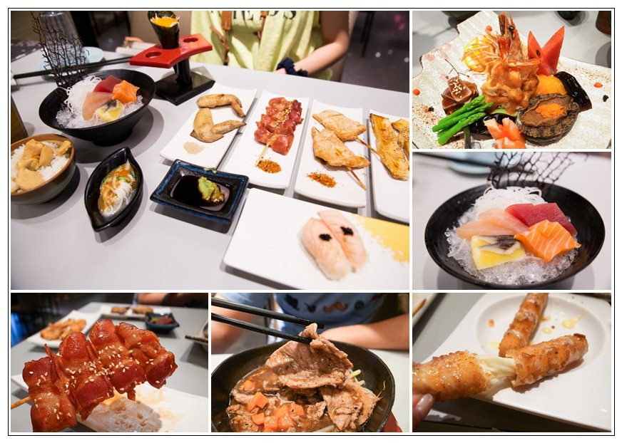 【台南安平】Toka東加和漢創作料理,平價日式料理吃到飽,生食、烤物、熟食等眾多口味!