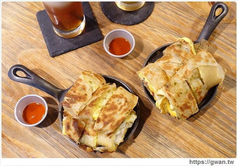 [捷運美食●西門站] GURU HOUSE 咕嚕好食 — 酥脆鐵鍋蛋餅,三種起司牽絲好誘人!!
