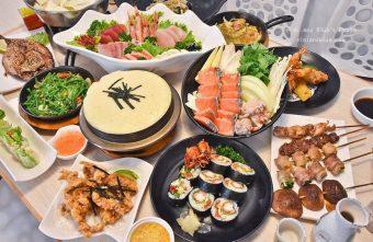 熱血採訪|雲鳥日式料理 火鍋、生魚片、炸物、定食、串燒,大推舒芙蕾烏龍麵