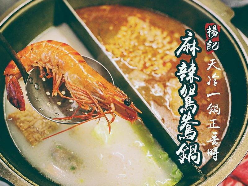 夏林路楊記麻辣鍋。小火鍋、鴛鴦鍋,怎樣吃?!任君挑選!!