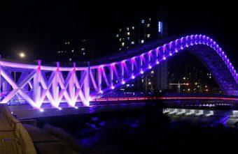 2018 03 09 105130 340x221 - 台中景點│橫跨旱溪的紫藍色彩海天橋,夜裡不可錯過的迷人紫調!