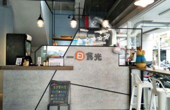台中早午餐|一日食光~精誠路中西式平價早午餐 體貼的炒麵加蛋特製版