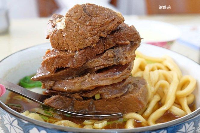 孫山東家常麵 | 牛肉塊疊成小山高,這間被喻為台中最好吃的牛肉麵你吃過了嗎?