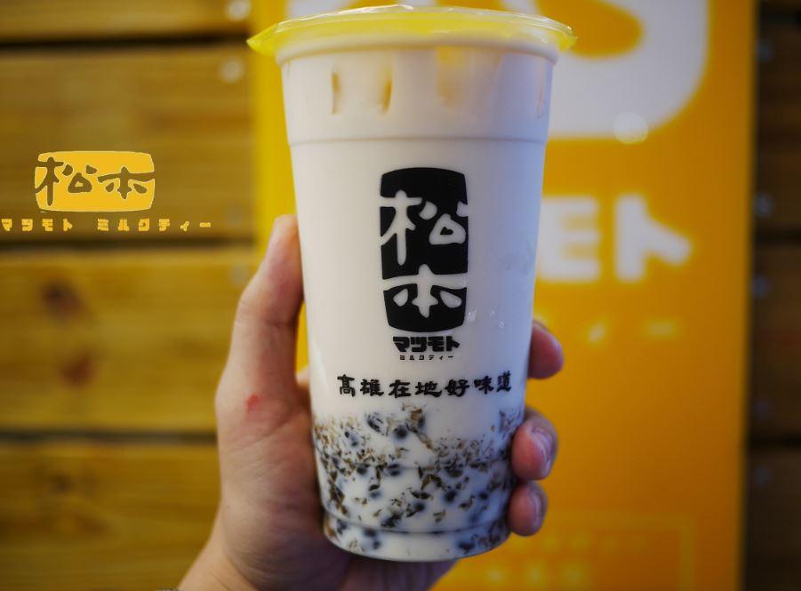 台中西區 松本鮮奶茶,來自高雄的茶飲專賣店,主打高牧鮮乳系列