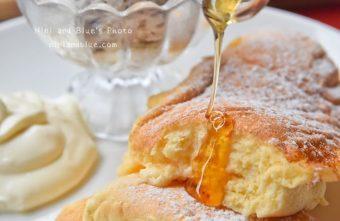 熱血採訪| 米蘭街 舒芙蕾鬆餅 鬆軟的像泡在雲朵中了!還有獨家手工八種麵條,葷素皆宜