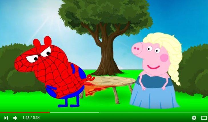 家長請注意!惡意的youtube頻道又來了!偽裝成佩佩豬等知名卡通,兒童看影片要當心