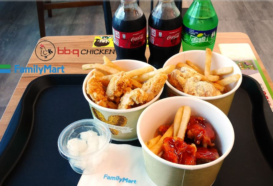 bb.q chicken全家超商引進的韓式炸雞落腳新烏日站│但品質請務必加油