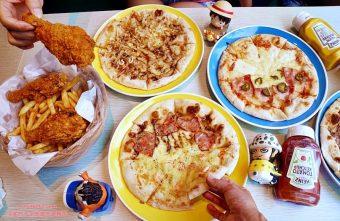熱血採訪│新莊披薩吃到飽 The Pizza 惹披薩 - 輔大店 八種口味PIZZA吃到飽 同學會聚餐好選擇