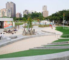 2018 07 18 174431 228x200 - 豐樂雕塑公園-全台第一座公立雕塑公園及跑酷設施公園,增設磨石子溜滑梯、翹翹板、鞦韆、沙坑