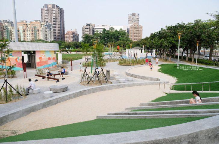 2018 07 18 174431 728x0 - 豐樂雕塑公園-全台第一座公立雕塑公園及跑酷設施公園,增設磨石子溜滑梯、翹翹板、鞦韆、沙坑