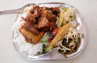 霧峰肉羹麵爌肉飯│便宜又划算,爌肉好多,大份的只要60元,小份才35元