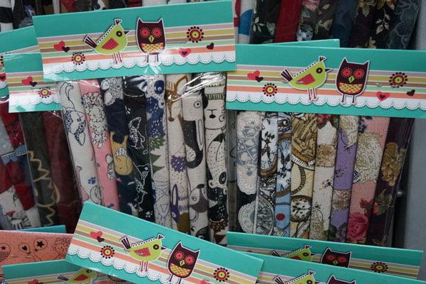 台中布莊│大同布行布料批發零售,棉布、古布、不織布、旗袍布與拼布包通通都有