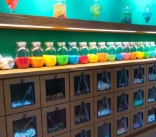 Antidote解藥|繽紛可愛糖果店 裝罐裝袋秤重賣 雷根糖 小熊軟糖 一中商圈混搭糖果專賣店