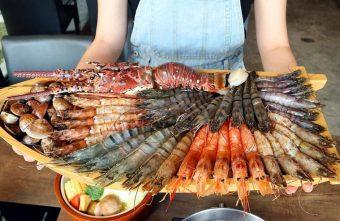 熱血採訪|台北知名火鍋上官木桶鍋來台中,超狂甜蜜痛風鍋,爆量鮮蝦吃到爽