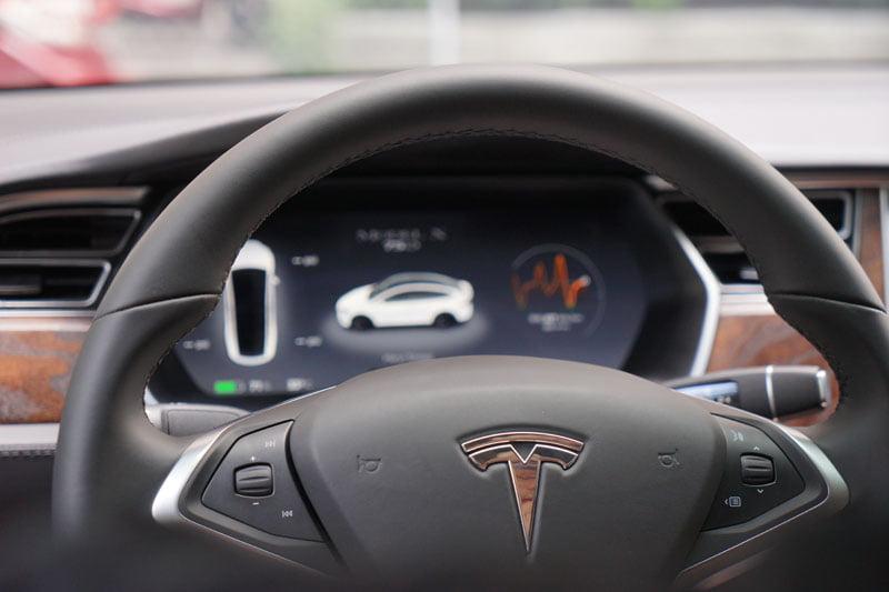 特斯拉電動車