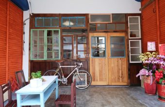 野人小築│大甲老屋咖啡館,舊漫畫老歌懷舊氛圍還有歷史中藥櫃