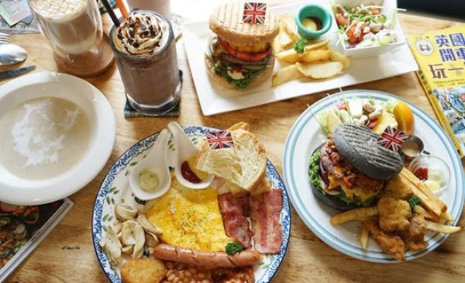 2018 09 18 212831 658x401 - 熱血採訪︱漢堡巴士 清爽的英式漢堡 道地英倫風格的好吃早午餐