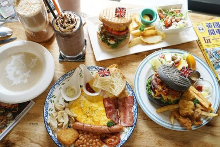 2018 09 18 212831 728x0 - 熱血採訪︱漢堡巴士 清爽的英式漢堡 道地英倫風格的好吃早午餐