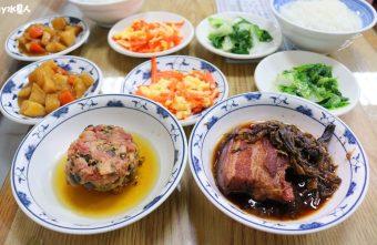 聯歡小西門|台中超過40年老字號懷舊盒餐,燉肉飯、蛋黃瓜仔肉飯好吃!
