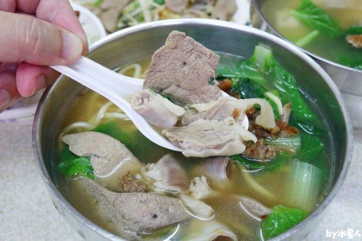 阿霞豬肝麵|西屯市場古早味美食,大推香Q肉燥和鮮嫩豬肝
